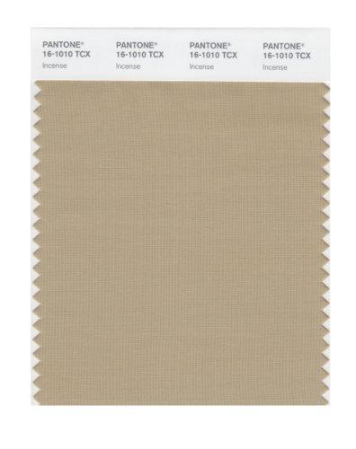 PANTONE SMART 16-1010X Color Swatch Card, (Seasonal Incense)