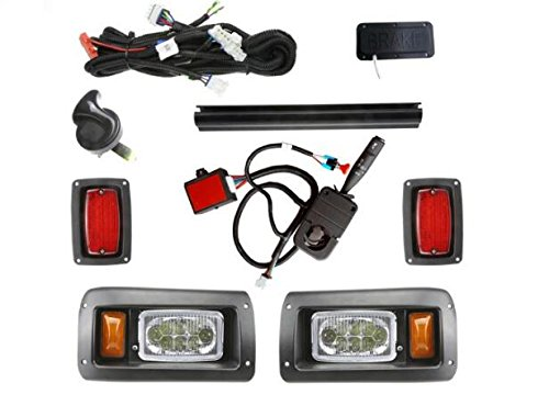 13Autosupply Super Deluxe LED Light Kit for Club Car DS ()