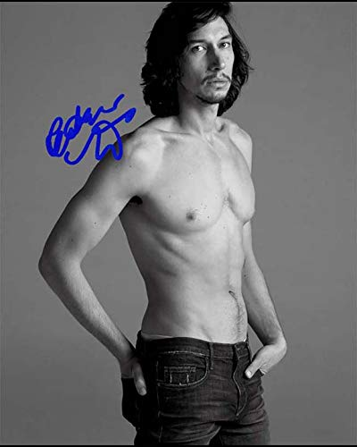 Adam Driver signed REPRINT 8x10 inch photograph Reprinted from Original