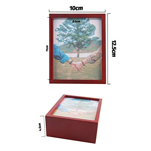 BeneCharm Music Box for Girls - 18-Note Wind up 4x6 Photo Frame Music Box of The Best Gift for Birthday/Holiday/Mother/Valentine\'s Day(Tune: You are My Sunshine)