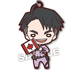 Yuri!! on Ice [ Jean-Jacques Leroy ] Rubber Mascot Strap #2