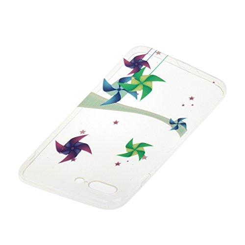 Voguecase® für Apple iPhone 7 Plus 5.5 hülle, Schutzhülle / Case / Cover / Hülle / TPU Gel Skin (Windmühle) + Gratis Universal Eingabestift