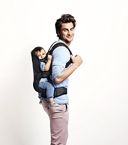 Baby Bjorn Baby Carrier One Air With Safety Reflector - Navy by BabyBjörn (Image #4)