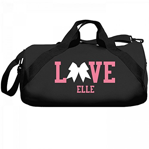 Cheerleader Love Elle Bag: Liberty Barrel Duffel (Elle Black Bag)