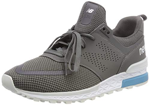 New Balance Herren 574s Sneaker Grau (Castlerock/Castlerock Pcg)