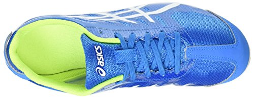 Diva Hyper 5 Blue Aqua Track Adults' Splash Blue White Ld and Field Asics Unisex Shoes qIwvEvg