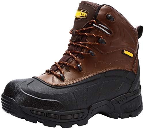 LARNMERN Steel Toe Boots Men, Safety