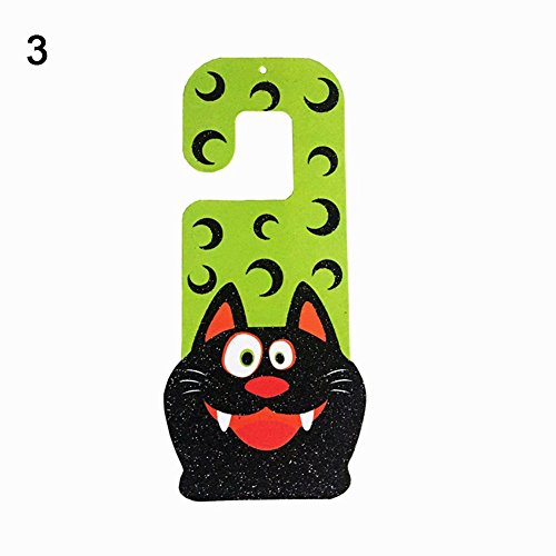 Dds5391 Special Festival Offers Halloween Hanging Decoration Cartoon Zombie Door Plate Bar Haunted House Decor C