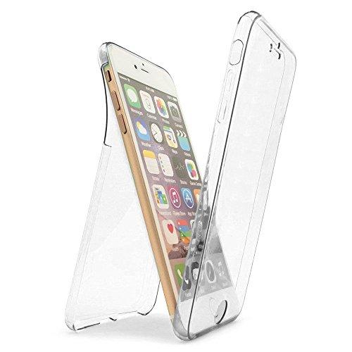 iPhone 7用 フルカバー DiDaDi 360°全面保護 ケース 正面1個+背面1個 セット TPU ソフトケース 3Dtouch対応 超軽量 防塵 耐衝撃 耐久性 耐指紋iPhone 7 クリア ケース