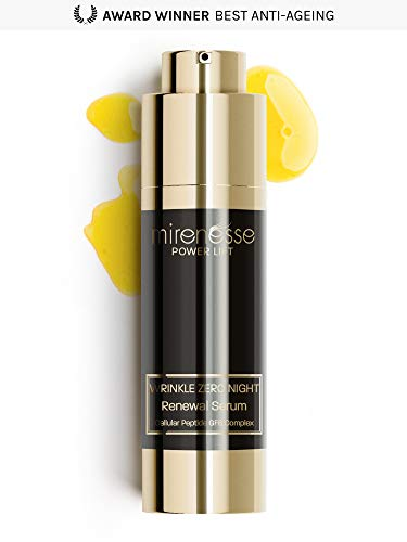 - Mirenesse Power Lift Wrinkle Zero Night Renewal Serum, Smooths & Firms Lines, Renews Skin Texture, Repairs with Peptide Growth, Vegan & Toxin Free, 1oz