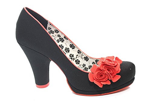 Ruby Shoo Eva F10294Cor - Damen Pumps - Mit Blumen & Absatz - UK4 EU37