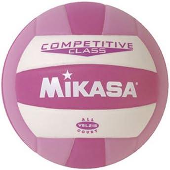 Mikasa Competitive Class - Balón de Voleibol, Color Rosa, tamaño ...