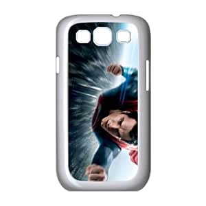 Superman Samsung Galaxy S3 9300 Cell Phone Case White Gxkti