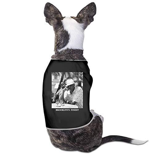 Ttysuqhzwzx Jay-Z & Biggie- Brooklyn's Finest Shirt Dog Anxiety Calming Wrap