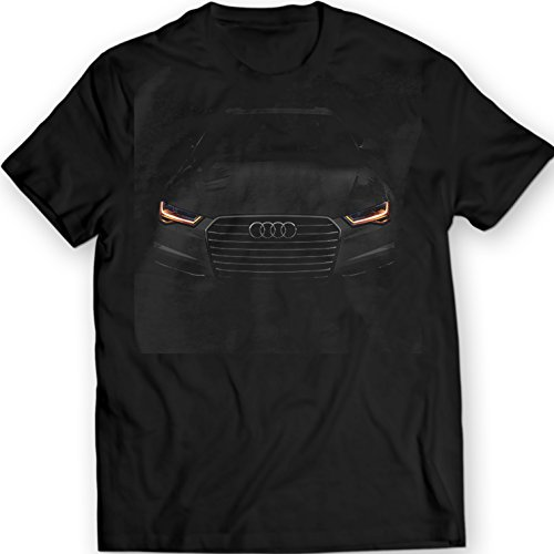 audi-a6-t-shirt-black-tee-unisex-mens-gift-idea-100-cotton-holiday-gift-birthday-xl-black