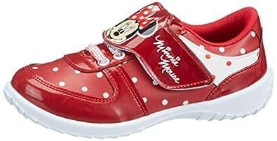 Mickey Mouse Kız Çocuk Bami Spor Ayakkabı, Kırmızı, 25