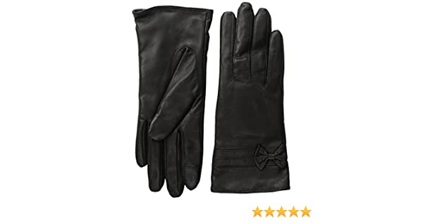 6048b4c19 ROYCE Premium Lambskin Leather Cellphone Tablet Touchscreen Gloves - Black  at Amazon Women's Clothing store: