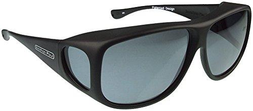Jonathan Paul Fitovers Eyewear Aviator Sunglasses (Matte Black, PDX, ()