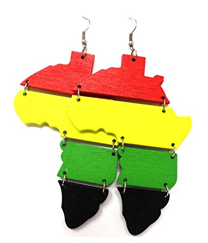 (Africa Rasta Earrings
