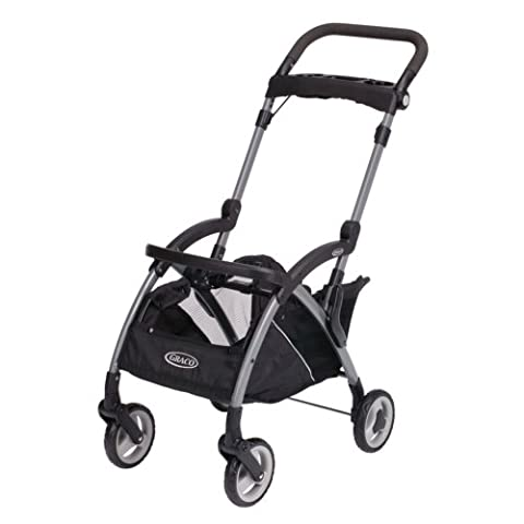 Graco SnugRider Elite Stroller and Car Seat Carrier, Black (Discontinued by Manufacturer) - Graco Snugrider Infant Car Seat Stroller Frame