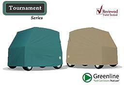 Greenline Golf Cart Storage Cover (Tan, 101x53x70-Inch)
