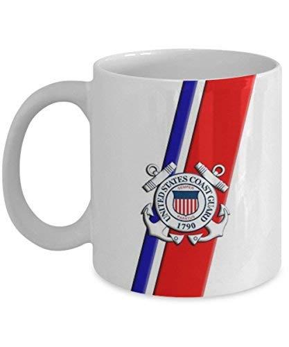 Coast Mug Guard (United States Coast Guard USCG Gift For Coast Guard Birthday Coffee Mug Tea Cup Funny Quote Gift Idea for Him or Her Women Father's Day Bro)