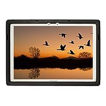 Bobj for Samsung Galaxy TabPro S 12 - BobjGear Protective Tablet Cover (Bold Black)