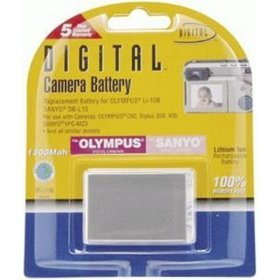 (Digital Concepts 1300 MAH Replacement Battery for Olympus)