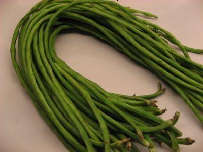 aproximadamente 30 dolicos de juaricotas verdes GrainesSpaghetti Snake Bean, Long Bean chino, espaguetis haricots, nieb/é. Las semillas frescas /– Mejor antes 12,2017. 5 g