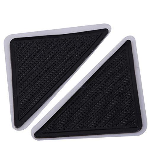 Ironing Leg Board Tri - Anti Slip Sticker for Mat 4PCS Carpet Pad Non Slip Tri Sticker Anti Slip Mat Pads Anti-Slip Furniture Accessories 20 Black