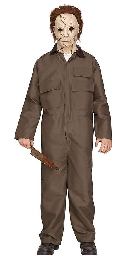 Amazon.com: Fun World Michael Myers Deluxe Teen Halloween Costume Teen  5u00277/150: Toys U0026 Games