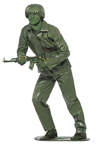Green Army Men Costume (Smiffys Toy Soldier Costume)