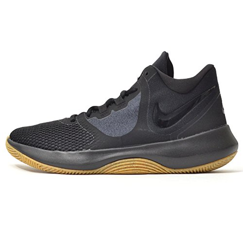 f5d3720b641 Nike Mens Air Precision Fabric Hight Top Lace Up Basketball Shoes ...