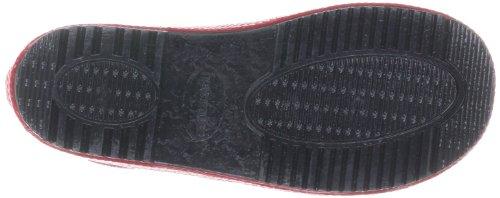Havaianas Kids Rain Boots, Bottes de pluie mixte enfant Noir/rouge