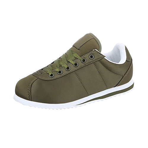 131 Ab Scarpe Da Piatto Sneaker Olive Ital design Donna Low Sneakers TzOUzv