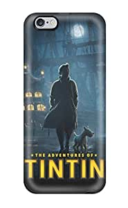 High-quality Durable Protection Case For Iphone 6 Plus(tintin Poster Steven Spielberg Peter Jackson People Movie)