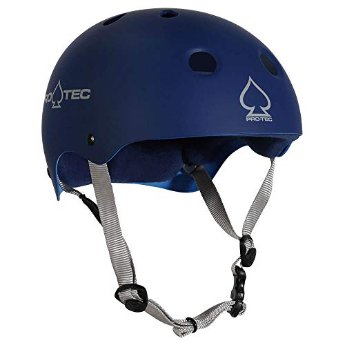 (Protec Classic Skate Helmet Matte Blue XL)