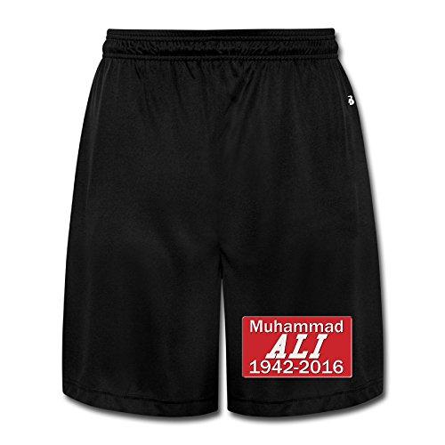 Show Time Men's Muhamma Aly Boxer Short Athletics Casual Pants Black ()