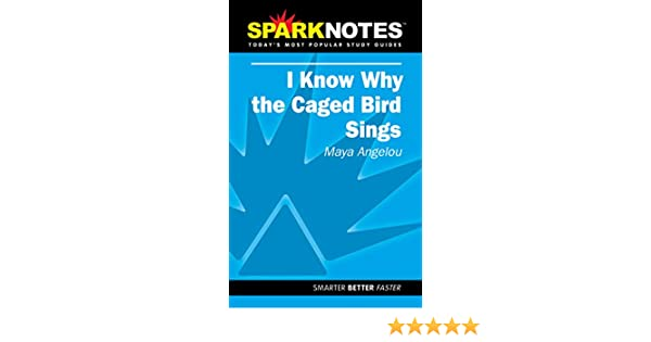 com spark notes i know why the caged bird sings com spark notes i know why the caged bird sings 9781586634407 a angelou sparknotes editors books