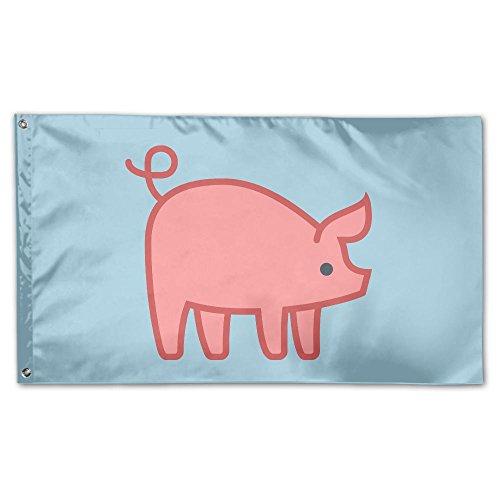 Home Garden Flags Piglet Pig Polyester Flag Indoor/Outdoor