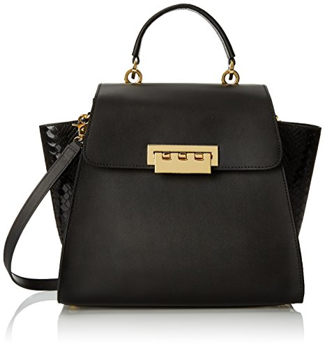 ZAC Zac Posen Eartha Top Handle Bag, Black, One Size