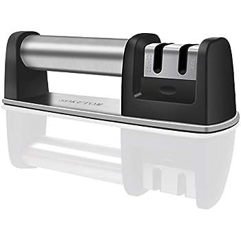 Amazon.com: Kitchen Knife Sharpener - 2-Stage Knife ...