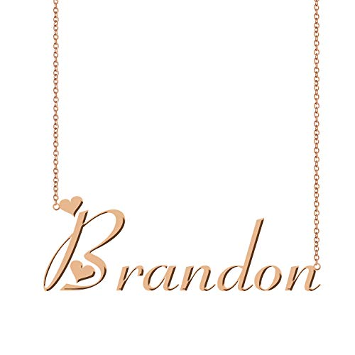 ZAloha Personalized Custom Name Necklace Brandon