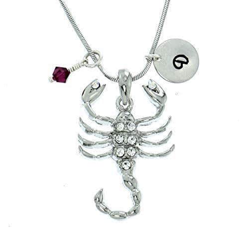 Sparkling Crystal Block Ring Chandelier: Amazon.com: Personalized Scorpion Pendant Sparkling