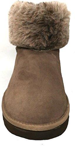 INBLU, Damen Stiefel & Stiefeletten  Beige Taupe 39