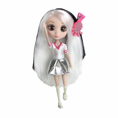 Shibajuku Girls Shiba-Cuties Miki Version 1 Mini Fashion Doll, Multicolor, 6