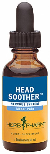 Headache Soother (Herb Pharm Head Soother Herbal Formula for Minor Pain Relief - 1 Ounce)