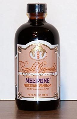 Melipone® Mexican Vanilla - 8 Oz. Bottle