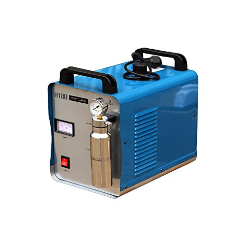 300W 95L Oxygen Hydrogen HHO Gas Flame Generator Water Welder Acrylic Polishing Machine Flame Polisher 110V + 2 Gas Torches US STOCK (Best Electrolyte For Hho Generator)