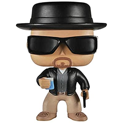 Funko POP Television (Vinyl): Breaking Bad Heisenberg Action Figure: Funko Pop! Television:: Toys & Games